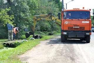 Работы по водоотведению продолжаются в Уссурийске