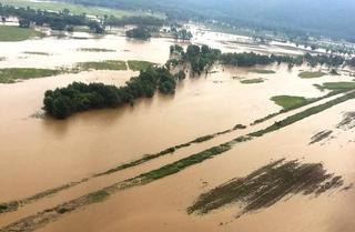 На восьми реках Приморья продолжается подъем воды