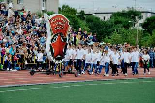 Грандиозный спортивный праздник объединил более 6 000 уссурийцев