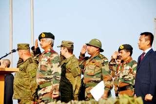 Совместные российско-индийские учения сухопутных войск «Индра-2016» успешно стартовали сегодня