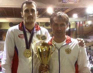 Кикбоксер из Уссурийска Александр Захаров одержал победу на чемпионате Европы