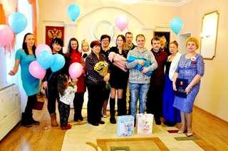 Необычный праздник имянаречения состоялся в здании управления ЗАГС в Уссурийске