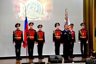 Легендарное Уссурийское суворовское училище отмечает сегодня 73-й день рождения