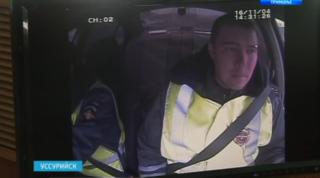 Все автомобили ГИБДД Уссурийска снабдили системой видеослежения