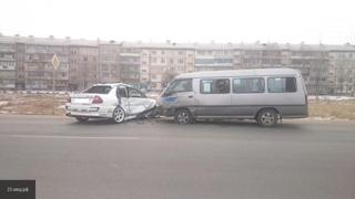В Уссурийске в ДТП с автобусом пострадали пять человек