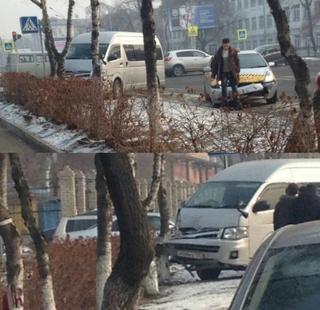 Несоблюдение скоростного режима создало аварийную ситуацию в Уссурийске