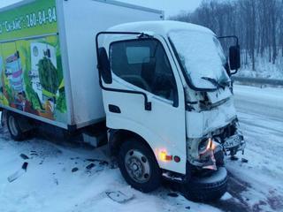 Прошедший снегопад спровоцировал 134 дорожно-транспортных происшествия в Приморье