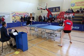 Чемпионат Дальневосточного Федерального округа по настольному теннису прошел в Уссурийске