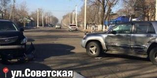 ДТП с участием дорогих авто произошло в Уссурийске
