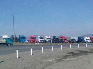 Всероссийская стачка дальнобойщиков началась в Приморье