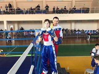 Чемпионка России из Уссурийска готовится к бою