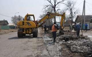 Комплексные весенние работы по очистке кюветов организованы в Уссурийском городском округе