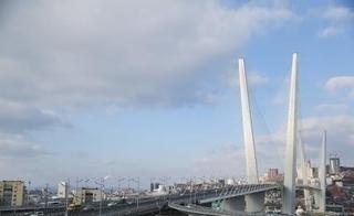 Уссуриец спрыгнул с Золотого моста во Владивостоке