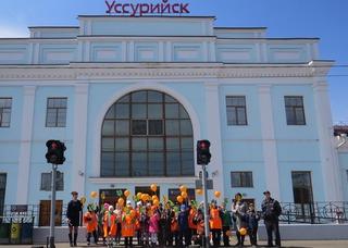 Сотрудники транспортной полиции Уссурийска провели акцию «Безопасный транспорт»