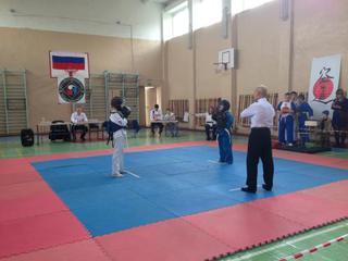 В Уссурийске прошли первые детские соревнования по восточному боевому единоборству КОБУДО