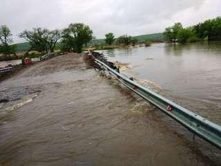 Сообщение с селами Кроуновка и Яконовка ограничено из-за паводка
