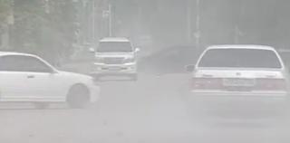 Жители и гости Уссурийска задыхаются от пыли