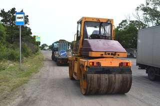 Ремонт дорог продолжается в Уссурийске