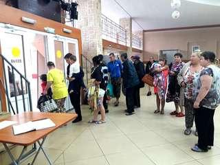 В пунктах временного размещения Уссурийска принимают пострадавших