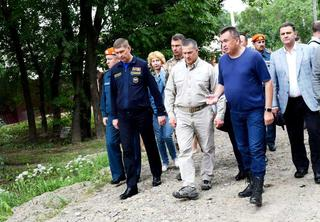 Полномочный представитель Президента РФ в ДВФО Юрий Трутнев в рамках рабочего визита посетил Уссурийск