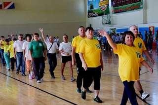 Торжественная церемония открытия Спартакиады пенсионеров Приморского края стартовала в Уссурийске