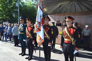 День знаний в Уссурийском военном суворовском училище начался с торжественного построения