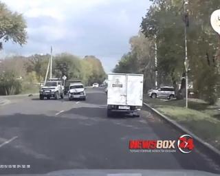Пожилая пара пострадала в ДТП в Уссурийске
