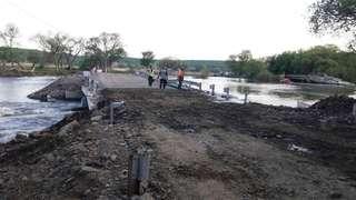 Строительство моста в Кроуновку начнется в декабре