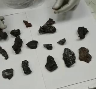 Уссурийские таможенники задержали 47 фрагментов метеорита, упавшего в 1947 году