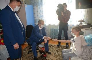 Новогоднее пожелание мальчика из Приморья исполнили по поручению Президента