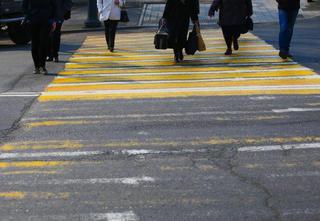 Девочку сбили на пешеходе в Приморье