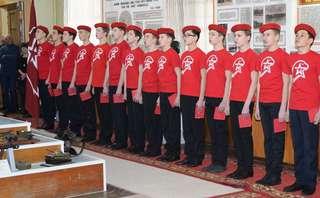 В ряды движения «Юнармия» вступили еще 25 уссурийских школьников