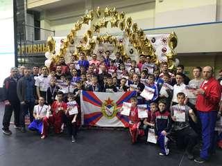 С очередных выездных соревнований уссурийские кикбоксеры вернулись с медалями