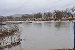 Дождевой паводок нарушил автомобильное сообщение с селом Кроуновка