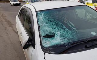 В Уссурийске водитель сбил школьника на пешеходном переходе. Видео