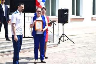 В Уссурийске участники акции «Украсим город» получили заслуженные подарки