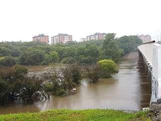 Наполнение рек Уссурийского городского округа продолжается