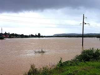 Спад воды продолжается на реках Приморья