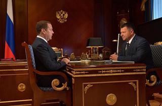Медведев приказал помочь Уссурийску