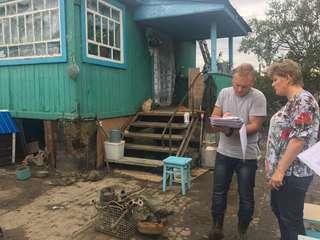 Более 900 заявлений принято от пострадавших от паводка для оценки ущерба
