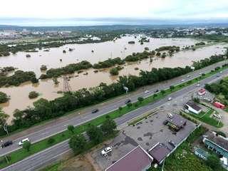 Подъем воды в реках снова зафиксирован в Уссурийском городском округе