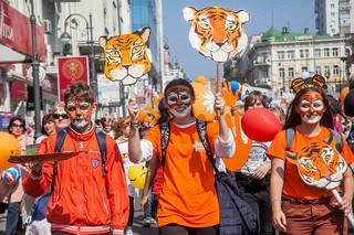 Около 8000 уссурийцев примут участие в «тигрином» шествии 30 сентября
