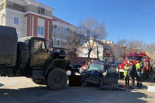 В ДТП в Уссурийске погибла женщина и пострадал ребёнок
