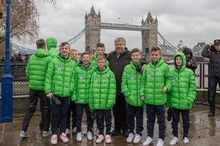 Уссурийские футболисты вернулись из Великобритании
