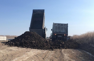 Более 20 единиц техники задействуют в реконструкции дороги Уссурийск–Пограничный–Госграница