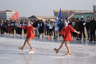 Праздник конькобежного спорта прошел в Уссурийске