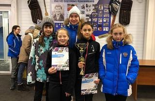 Уссурийские шорт-трекисты завоевали путевки на «Сочинский Олимп»