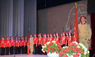 В Уссурийске состоялось торжественное собрание, посвященное Дню защитника Отечества