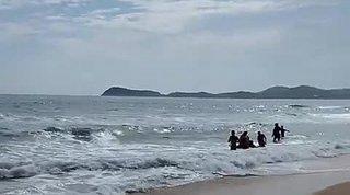 8 человек едва не утонули на популярном пляже в Приморье