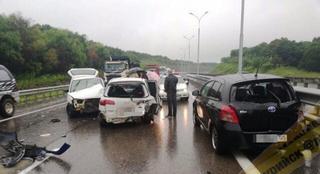 Жёсткое массовое ДТП блокировало федеральную трассу в Приморье